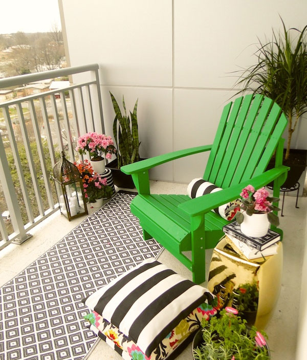Best ideas about Small Apartment Patio Ideas . Save or Pin Small Balcony Design Ideas s and Inspiration Now.