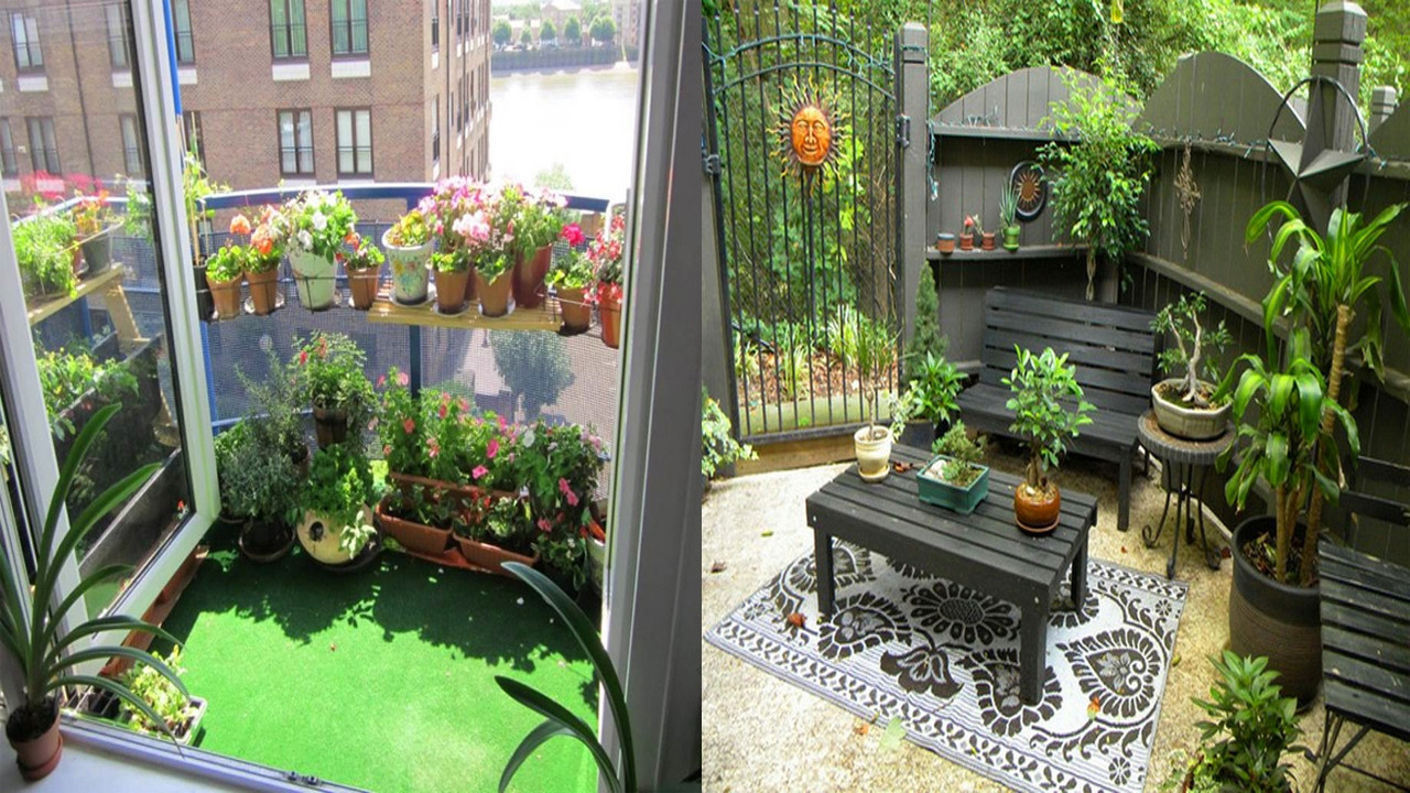 Best ideas about Small Apartment Patio Ideas . Save or Pin Very Small Patio Decorating Ideas small apartment patio Now.