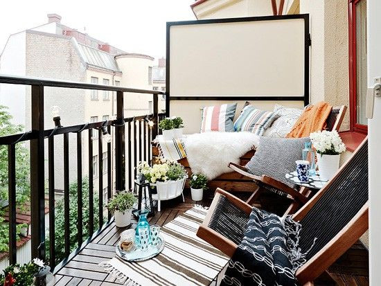 Best ideas about Small Apartment Patio Ideas . Save or Pin Balcony Privacy on Pinterest Now.