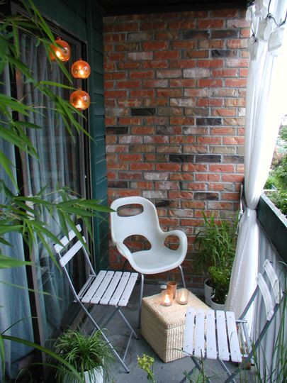 Best ideas about Small Apartment Patio Ideas . Save or Pin 11 Small Apartment Balcony Ideas with Now.