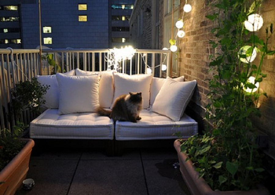Best ideas about Small Apartment Patio Ideas . Save or Pin Cozy Decorating Ideas For Small Apartment Patios Now.