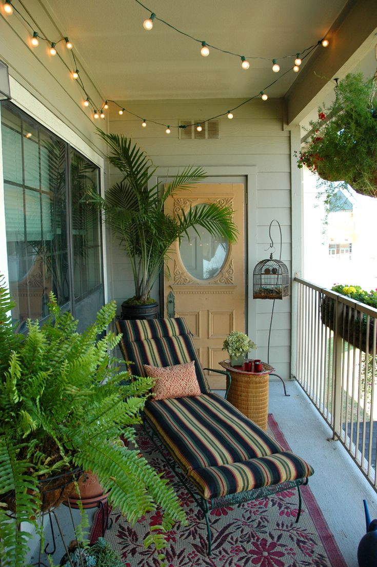 Best ideas about Small Apartment Patio Ideas . Save or Pin 17 Best ideas about Apartment Balcony Decorating on Now.