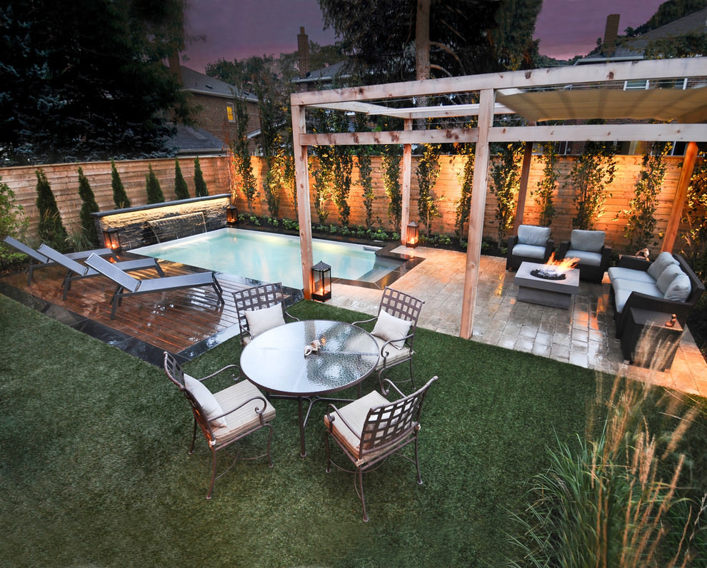 Best ideas about Small Backyard Patio Ideas . Save or Pin 24 Small Swimming Pool Designs Decorating Ideas Now.