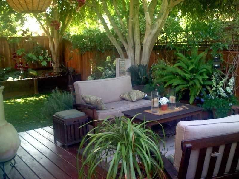 Best ideas about Small Backyard Patio Ideas . Save or Pin Fence Ideas for Small Yard AyanaHouse Now.