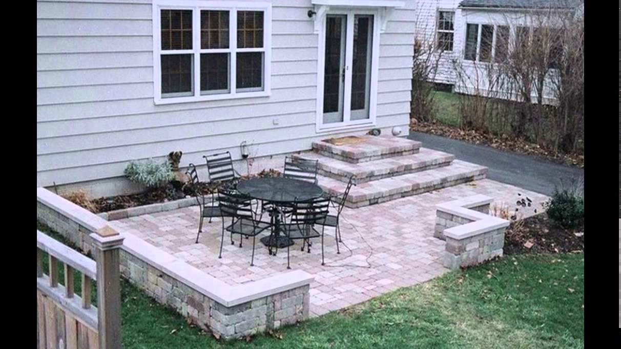 Best ideas about Small Backyard Patio Ideas . Save or Pin Patio Design Ideas Concrete Patio Design Ideas Now.