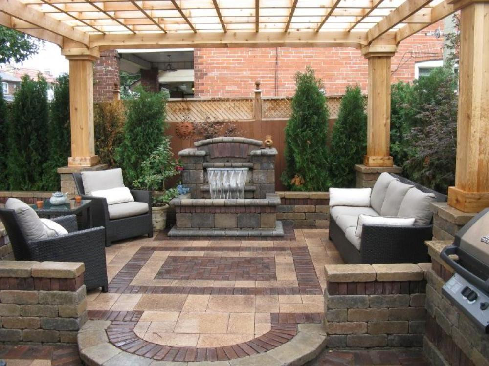 Best ideas about Small Backyard Patio Ideas . Save or Pin Small Backyard Covered Patio Ideas Home Citizen Now.