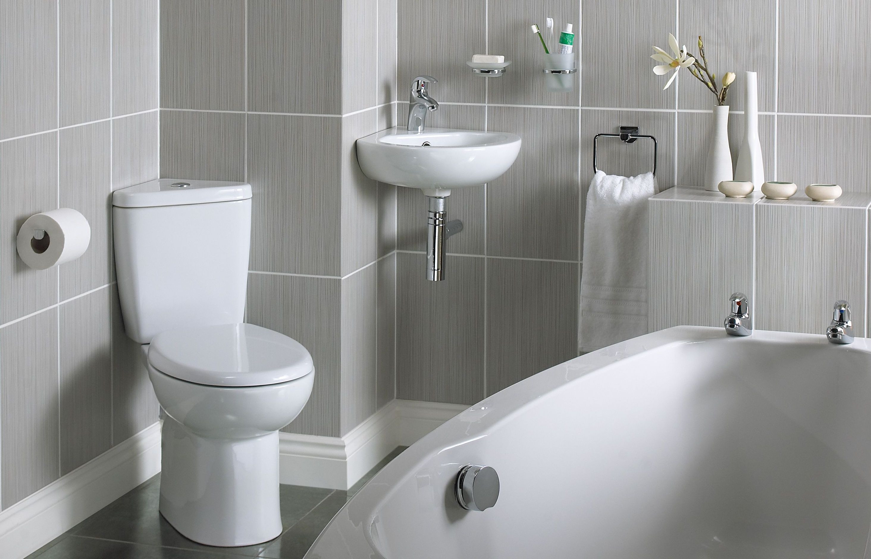 Best ideas about Small Bathroom Plans . Save or Pin Small bathroom ideas Ideas & Advice Now.