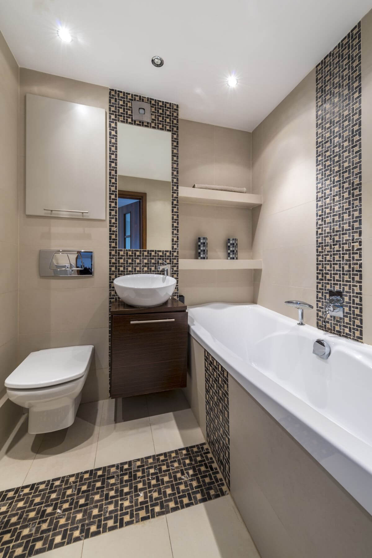 Best ideas about Small Bathroom Plans . Save or Pin 32 Best Small Bathroom Design Ideas and Decorations for 2019 Now.