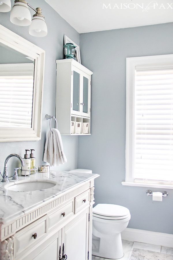 Best ideas about Small Bathroom Plans . Save or Pin 10 Tips for Designing a Small Bathroom Maison de Pax Now.