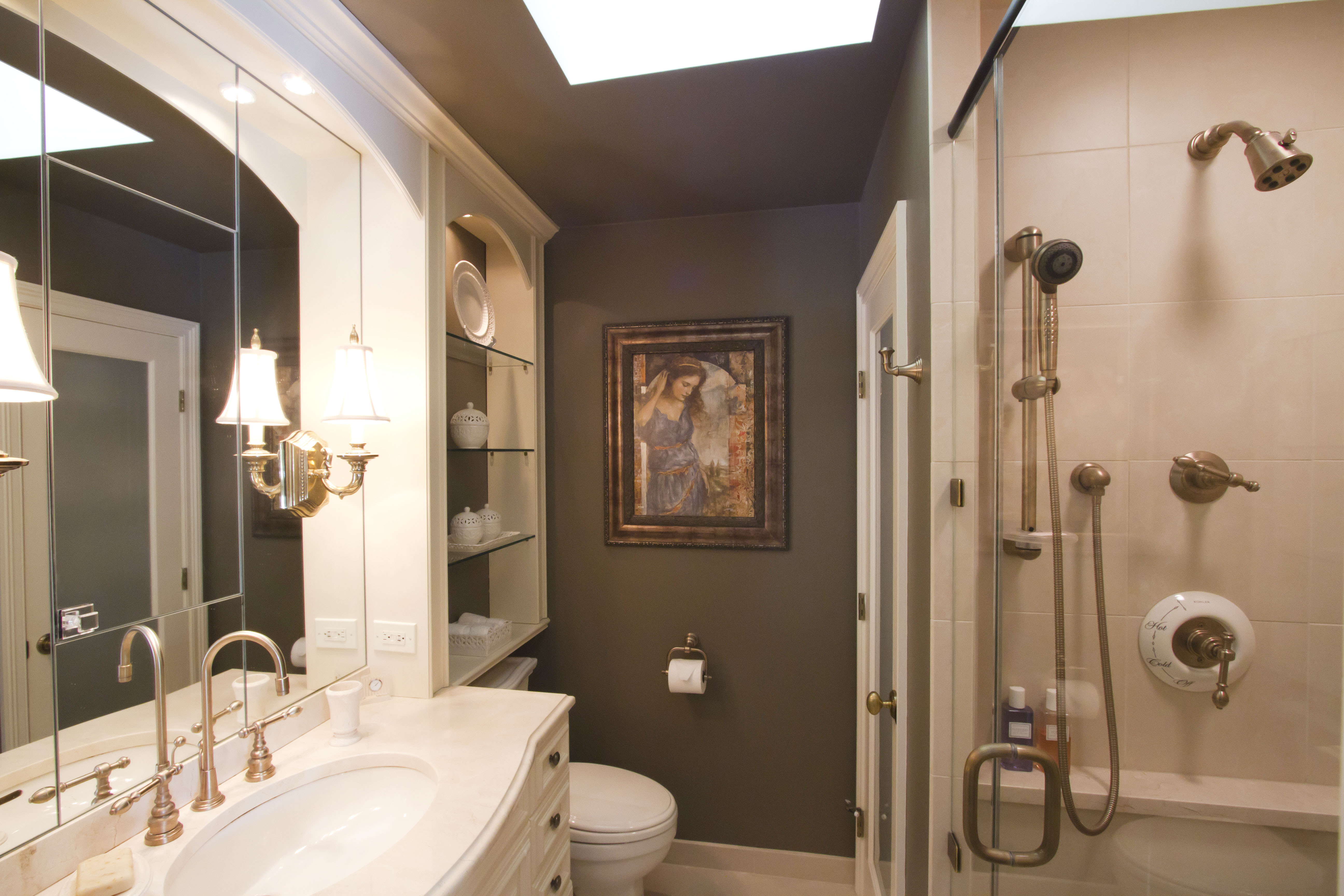 Best ideas about Small Bathroom Plans . Save or Pin home design small bathroom ideas Now.