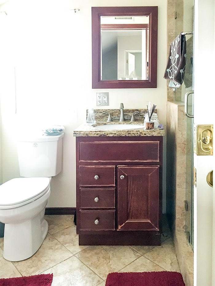 Best ideas about Small Bathroom Remodel . Save or Pin Small Bathroom Remodel Ideas on a Bud Anika s DIY Life Now.
