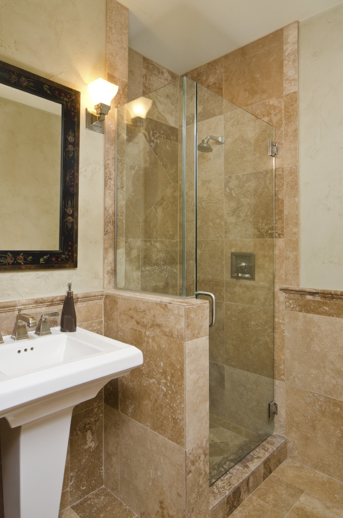 Best ideas about Small Bathroom Remodel . Save or Pin Small BAth Remodel Raleigh Now.