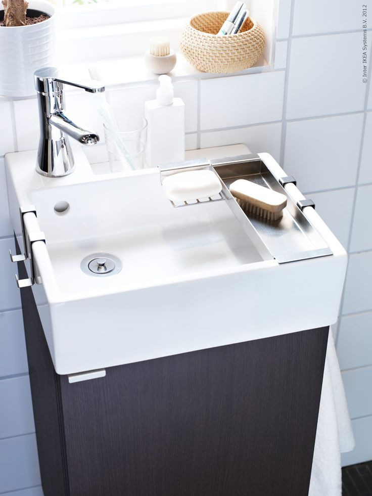 Best ideas about Small Bathroom Sink . Save or Pin 25 best ideas about Ikea Bathroom on Pinterest Now.
