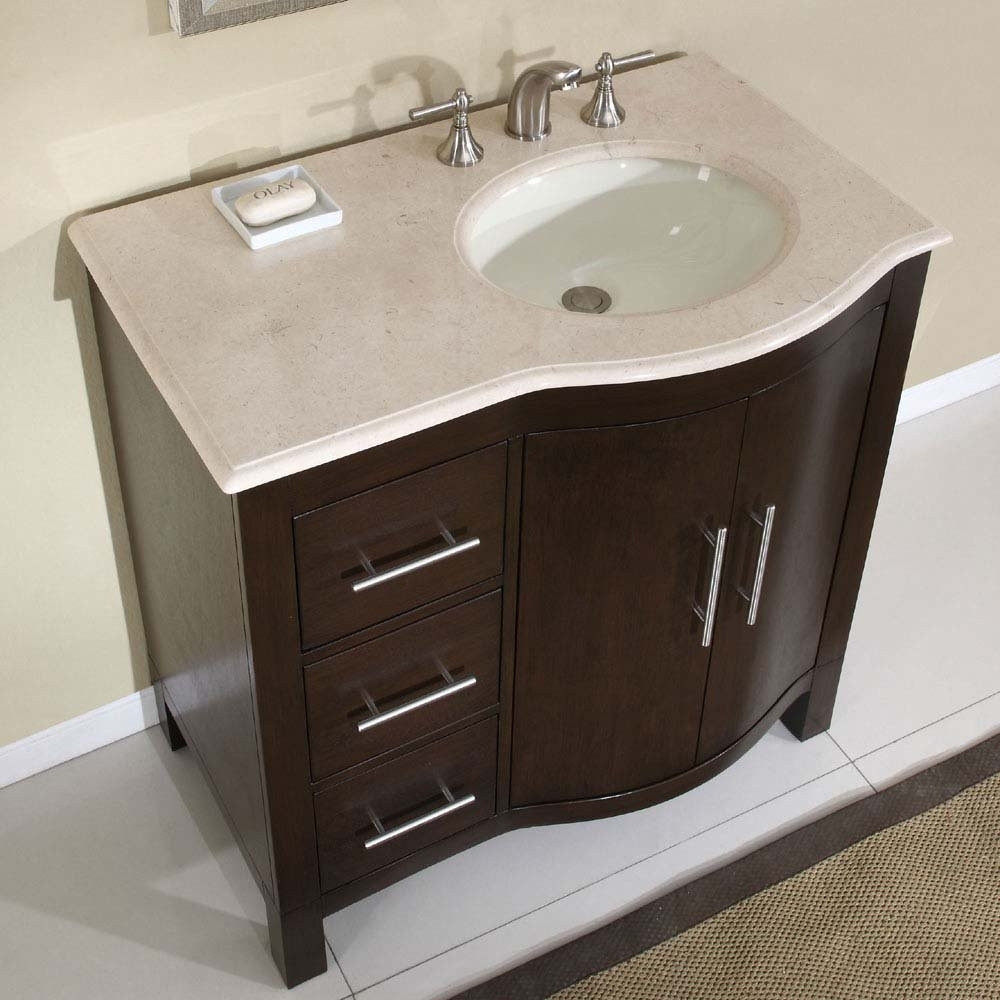Best ideas about Small Bathroom Sink . Save or Pin Ideas For Small Bathroom Sinks — The Home Redesign Now.