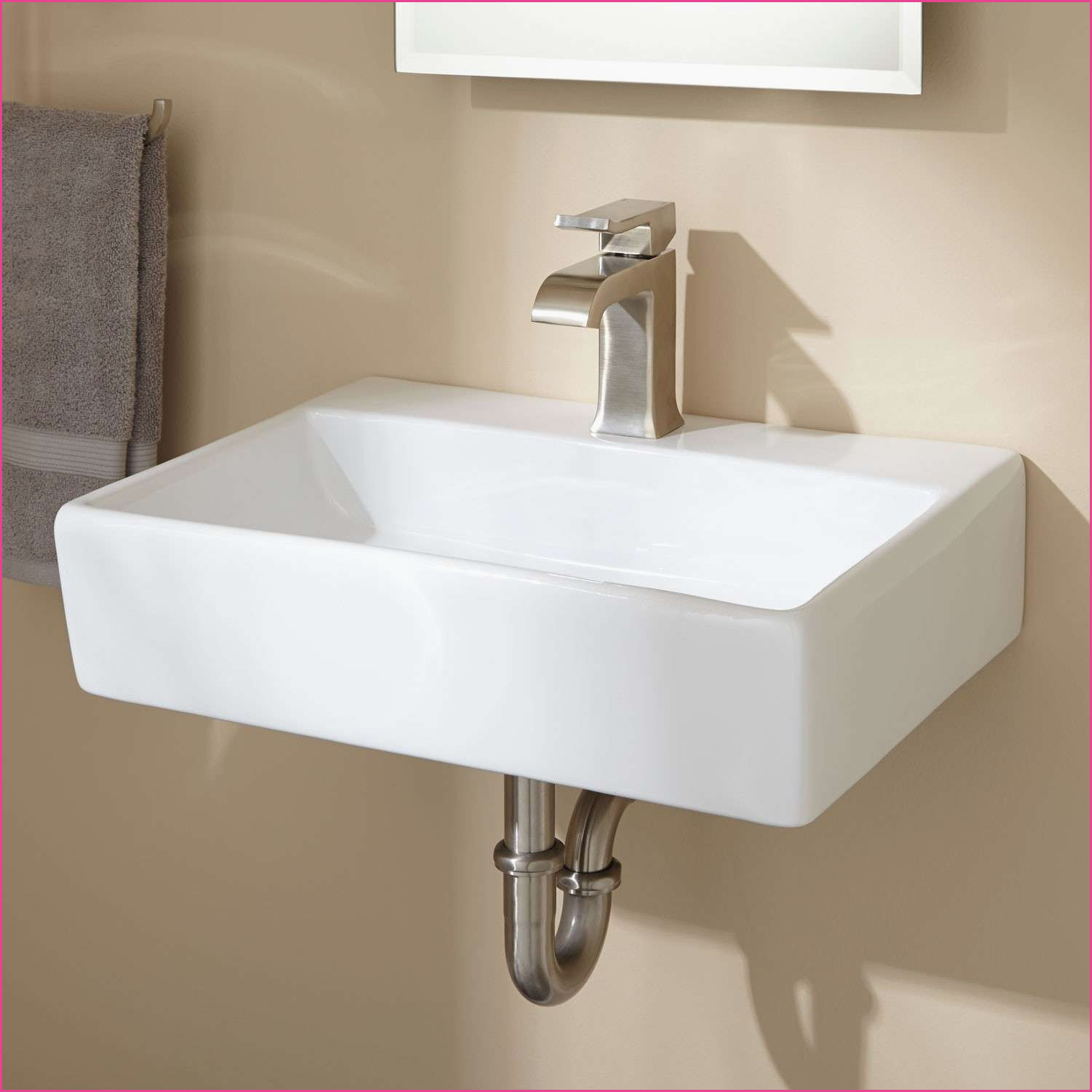 Best ideas about Small Bathroom Sink . Save or Pin Fresh Home Depot Small Bathroom Sinks – REFLEXCAL Now.