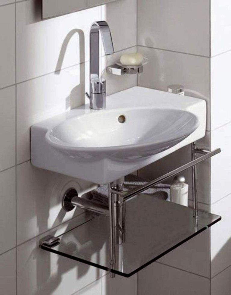 Best ideas about Small Bathroom Sink . Save or Pin 30 Small Modern Bathroom Ideas – Deshouse Now.