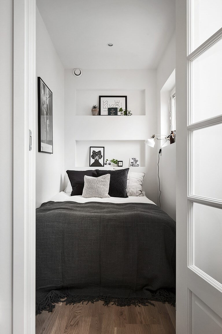 Best ideas about Small Bedroom Design . Save or Pin 37 Best Small Bedroom Ideas and Designs for 2019 Now.