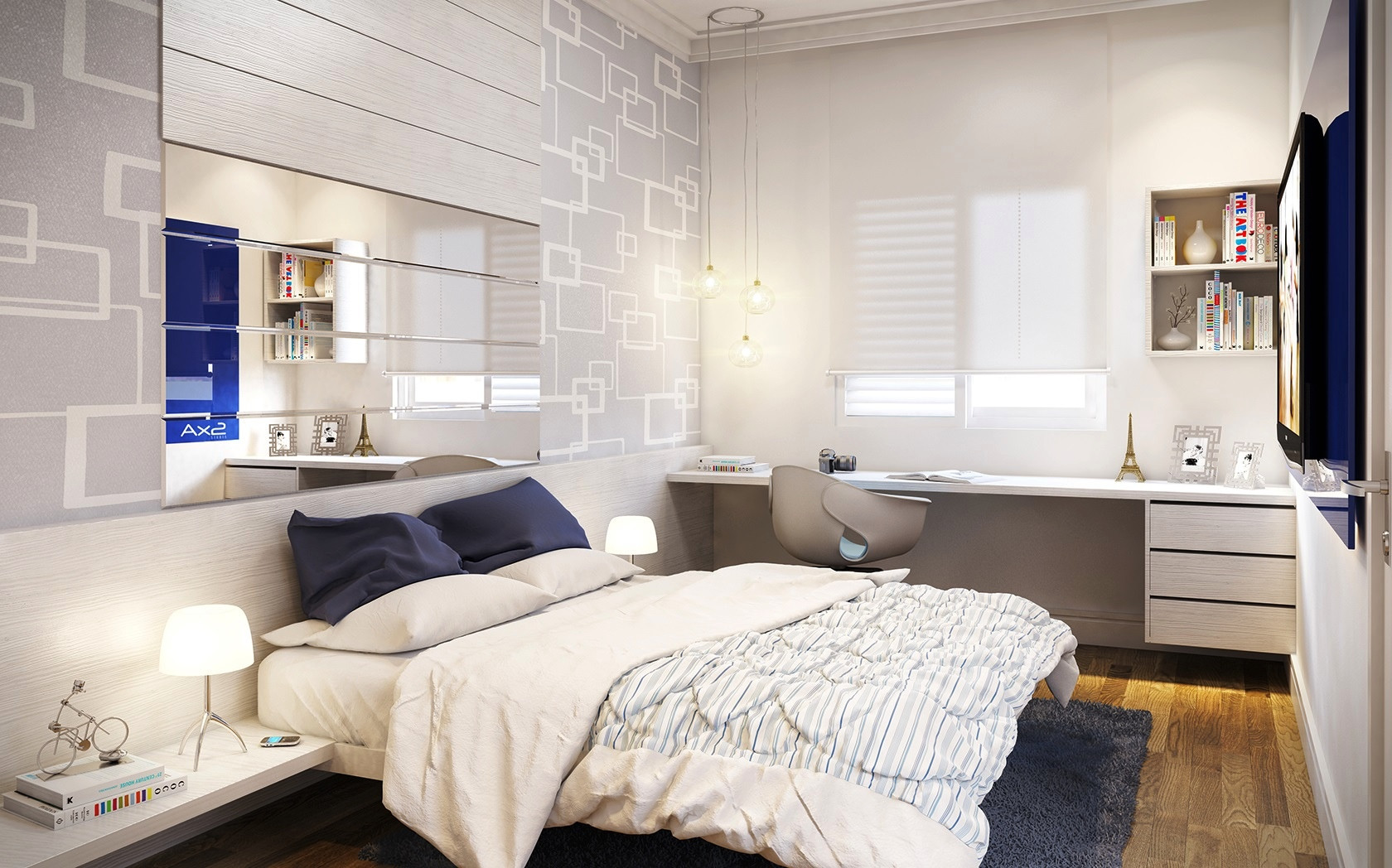 Best ideas about Small Bedroom Design . Save or Pin 25 Newest Bedrooms That We Are In Love With Now.