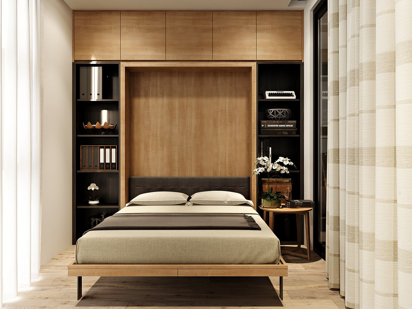 Best ideas about Small Bedroom Design . Save or Pin Sophisticated Small Bedroom Designs Now.