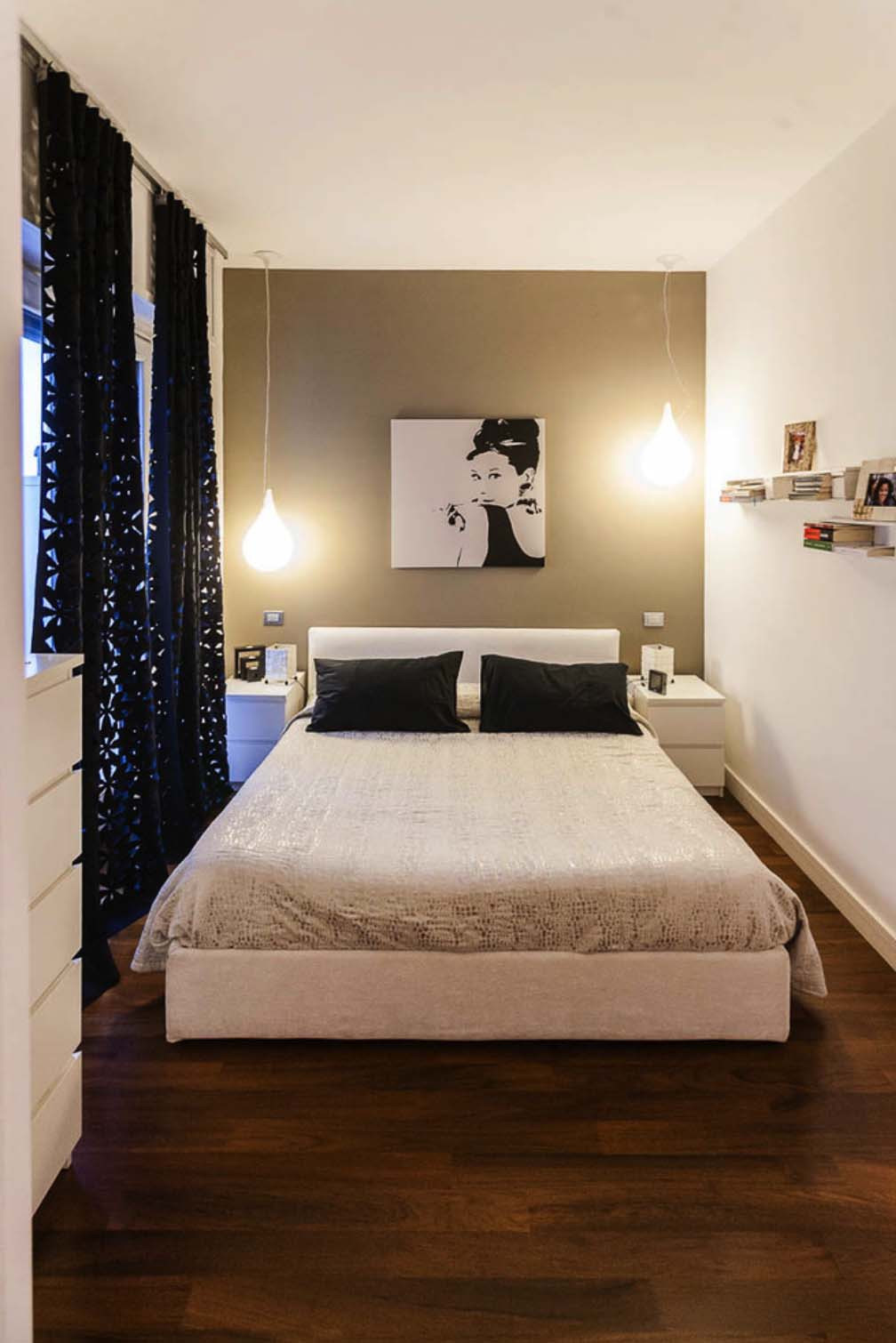 Best ideas about Small Bedroom Layout . Save or Pin 30 Small yet amazingly cozy master bedroom retreats Now.