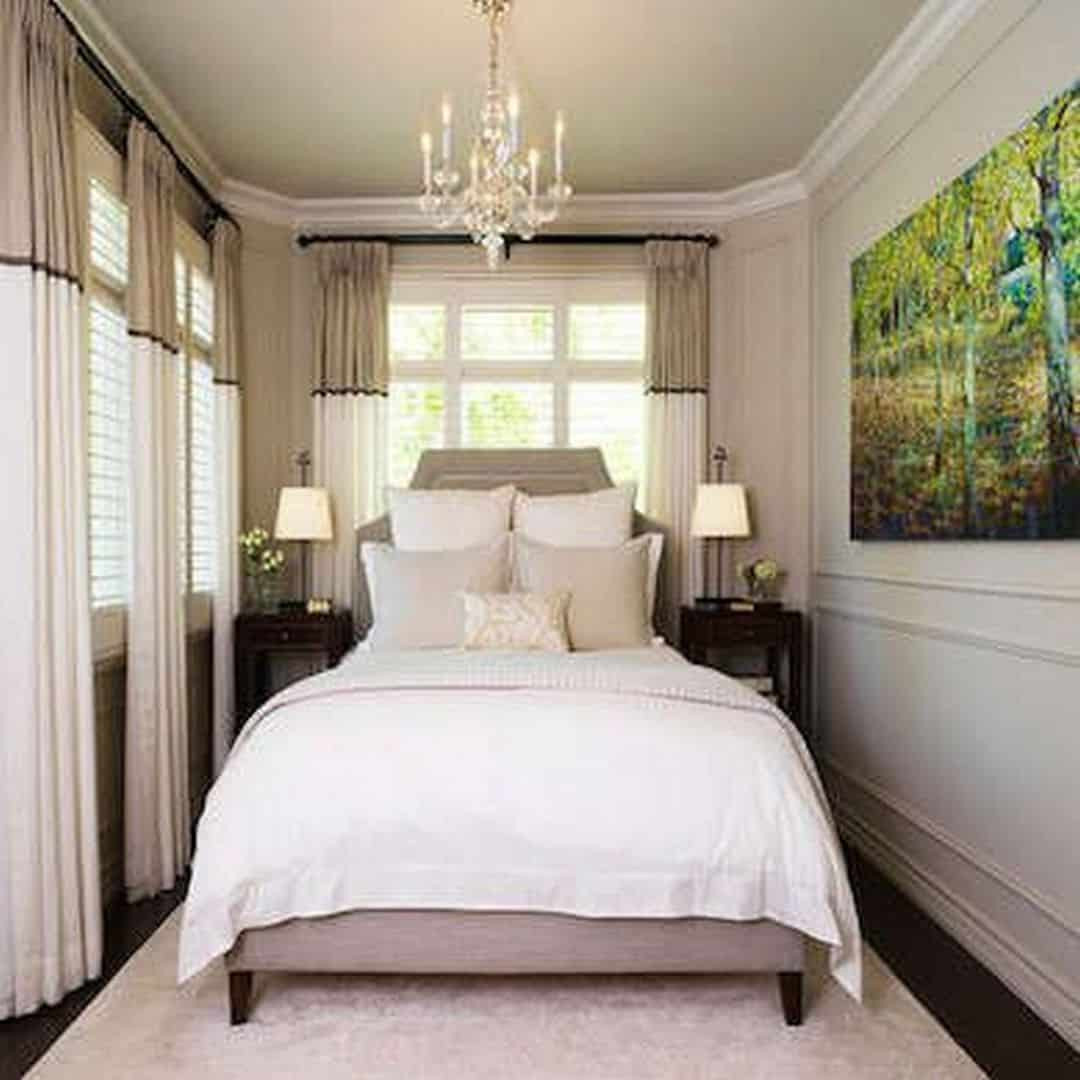Best ideas about Small Bedroom Layout . Save or Pin Cozy Small Bedroom Tips 12 Ideas to Bring forts into Now.