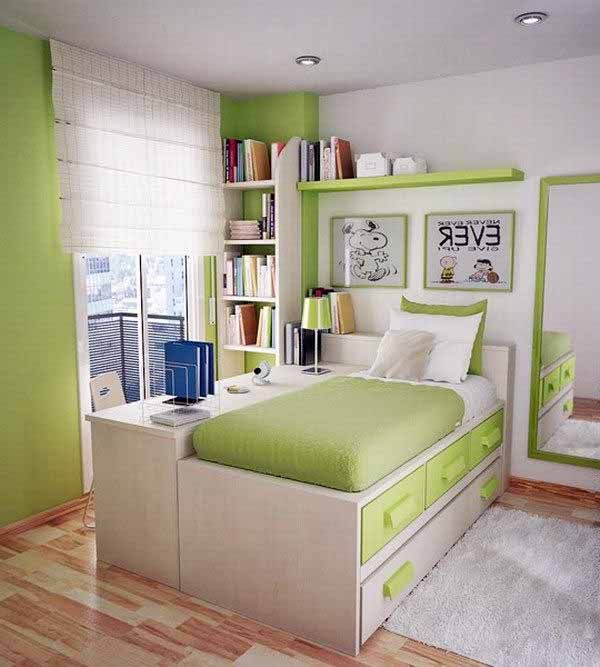 Best ideas about Small Bedroom Layout . Save or Pin 38 Awesome Small Room Design Ideas… 15 35 & 38 Will Rock Now.
