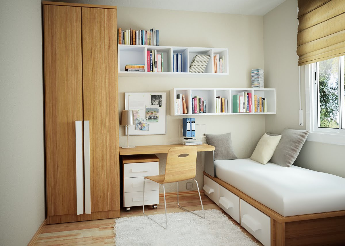 Best ideas about Small Bedroom Layout . Save or Pin Small Bedroom Design Ideas – Interior Design Design News Now.