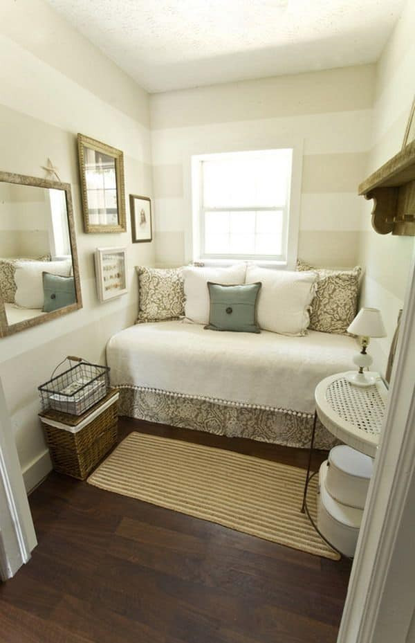 Best ideas about Small Bedroom Layout . Save or Pin 60 Unbelievably inspiring small bedroom design ideas Now.
