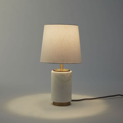 Best ideas about Small Desk Lamp . Save or Pin Small Pillar Table Lamp Marble Now.