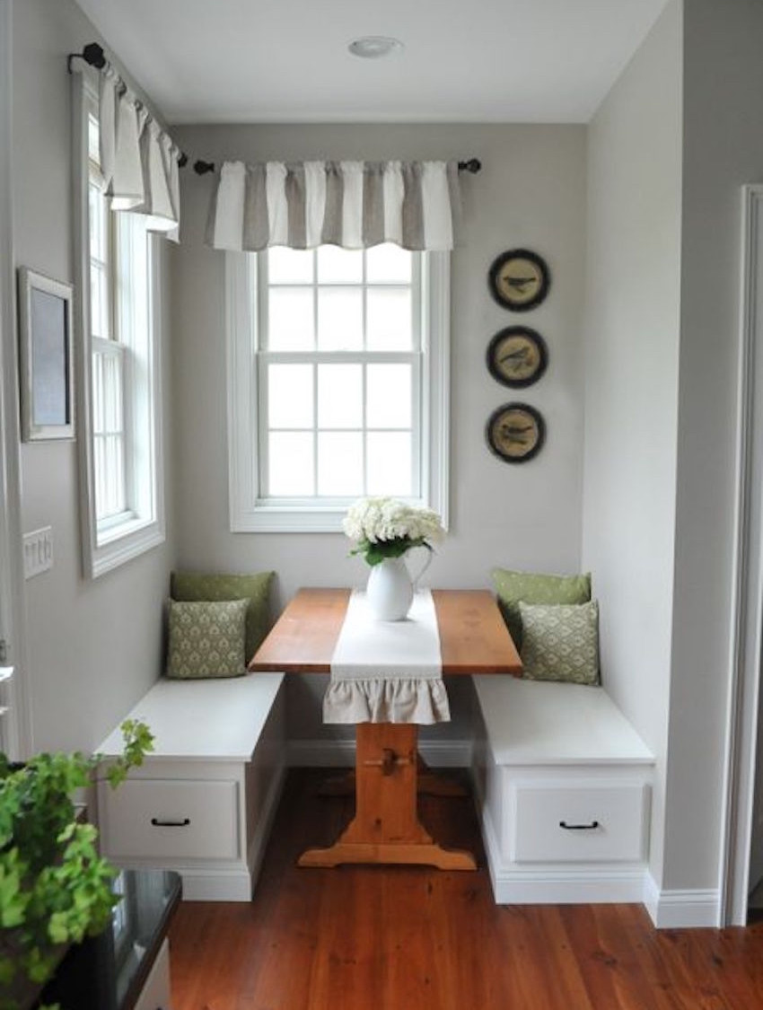 Best ideas about Small Dining Room . Save or Pin 10 narrow dining tables for a small dining room Now.