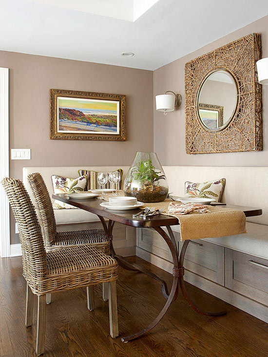 Best ideas about Small Dining Room . Save or Pin Small Space Dining Rooms Now.