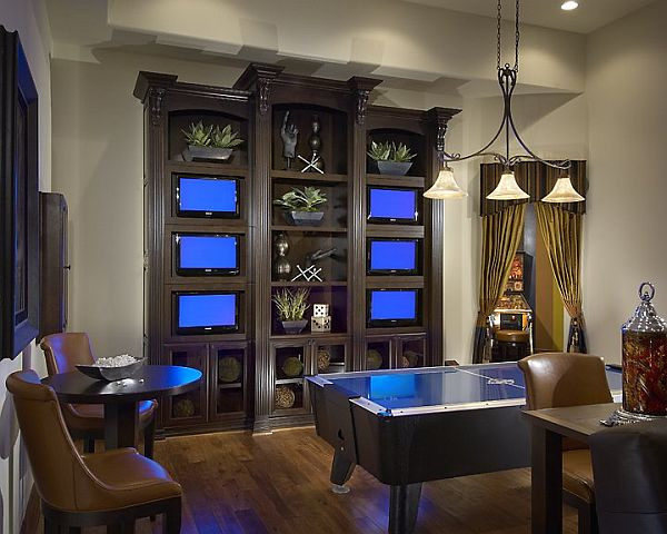 Best ideas about Small Game Room Ideas . Save or Pin Inspiring game rooms decorating ideas Now.