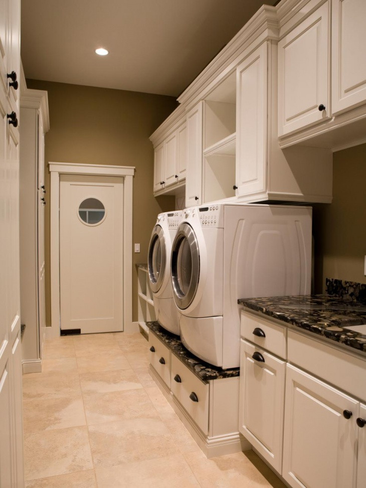 Best ideas about Small Laundry Room Design . Save or Pin 18 Small Laundry Room Designs Ideas Now.