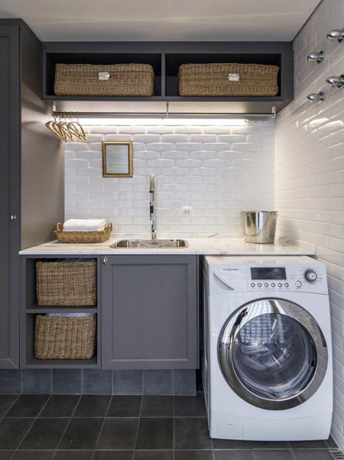 Best ideas about Small Laundry Room Design . Save or Pin 20 Space Saving Ideas for Functional Small Laundry Room Design Now.