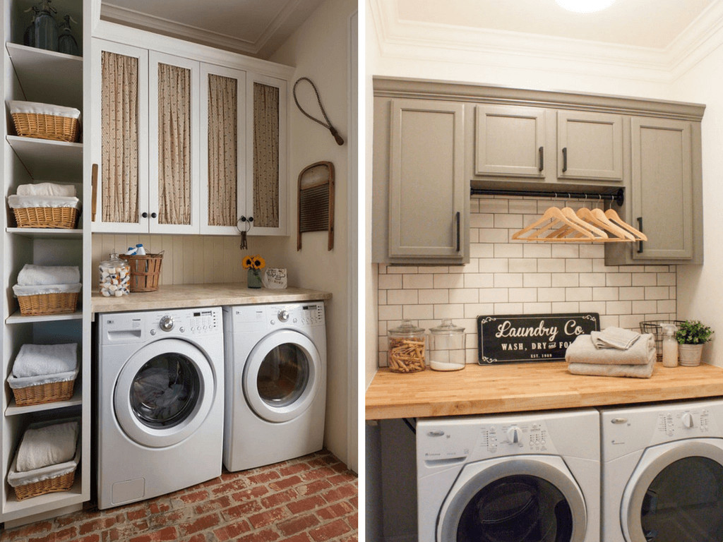 Best ideas about Small Laundry Room Design . Save or Pin 12 Inspiring Small Laundry Room Ideas Love & Renovations Now.