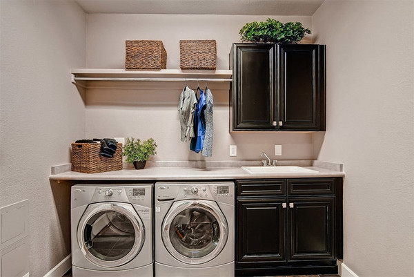 Best ideas about Small Laundry Room Design . Save or Pin 40 small laundry room design ideas fortable and Now.