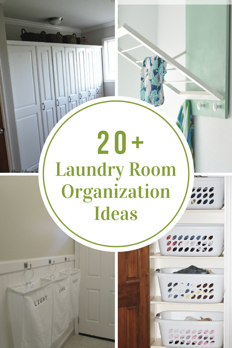 Best ideas about Small Laundry Room Organization Ideas . Save or Pin Laundry Room Organization Ideas The Idea Room Now.