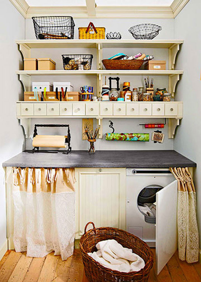 Best ideas about Small Laundry Room Organization Ideas . Save or Pin Laundry Room Storage Ideas Now.