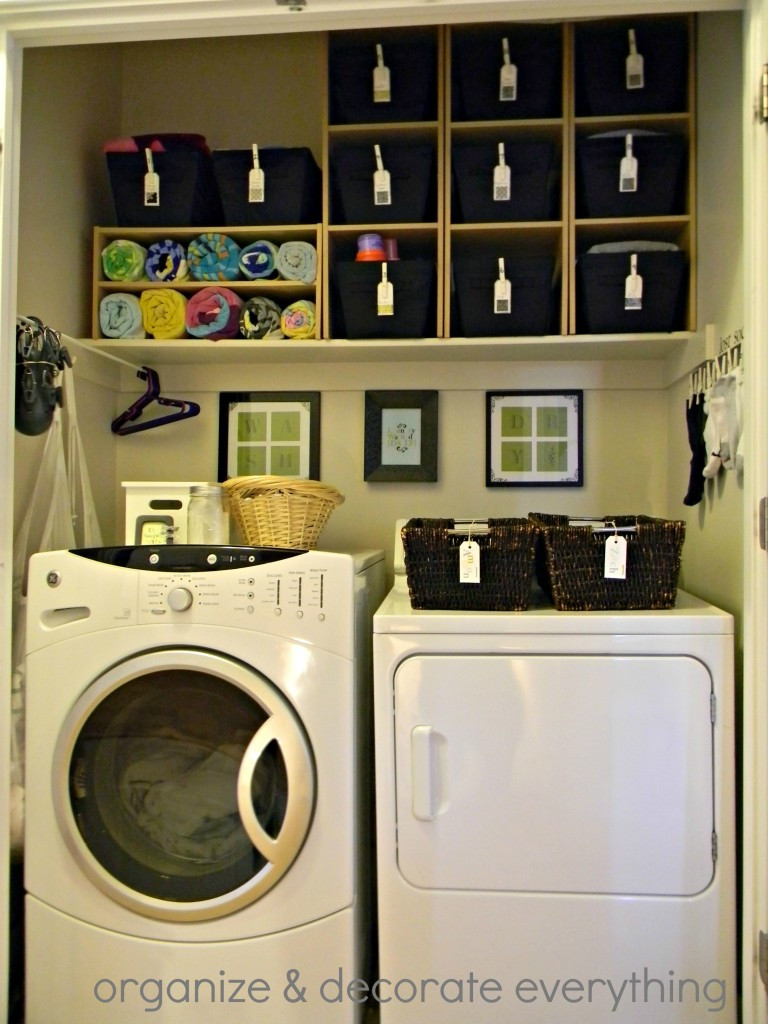 Best ideas about Small Laundry Room Organization Ideas . Save or Pin Remodelaholic Now.