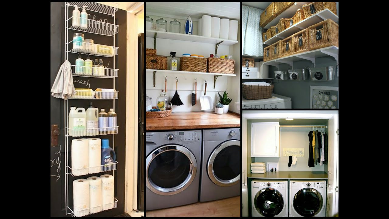Best ideas about Small Laundry Room Organization Ideas . Save or Pin Small Laundry Room Organization Tips DIY Home Now.