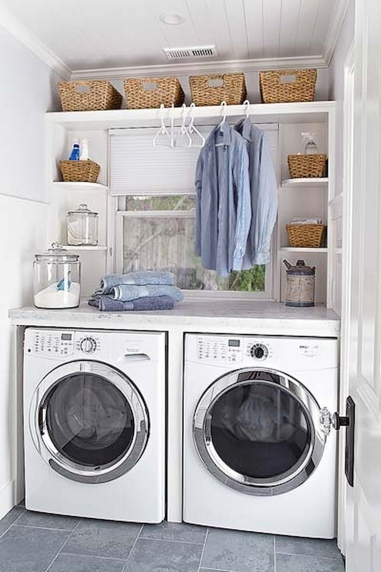 Best ideas about Small Laundry Room Organization Ideas . Save or Pin 70 Best DIY Small Laundry Room Organization Ideas Page Now.