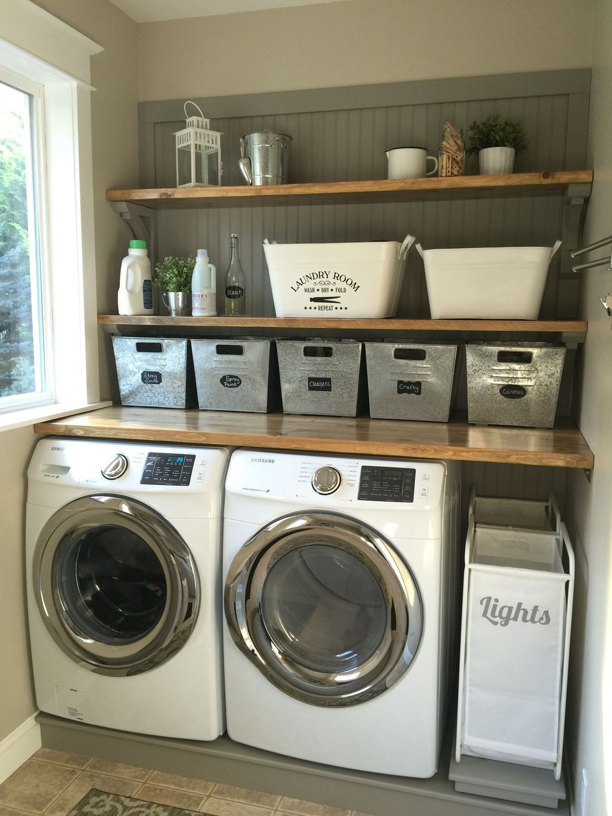 Best ideas about Small Laundry Room Storage Ideas . Save or Pin 23 Small Laundry Room Storage Ideas decoratoo Now.
