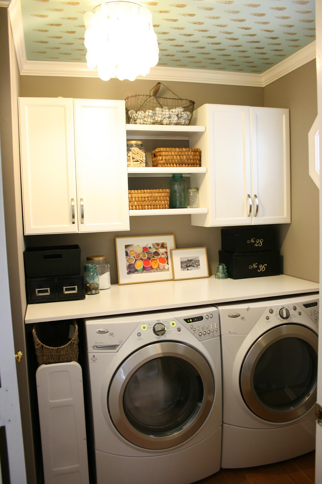 Best ideas about Small Laundry Room Storage Ideas . Save or Pin The Boutons Laundry Room Now.