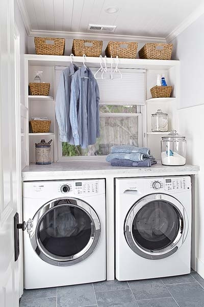 Best ideas about Small Laundry Room Storage Ideas . Save or Pin Small Laundry Room Ideas FaveThing Now.