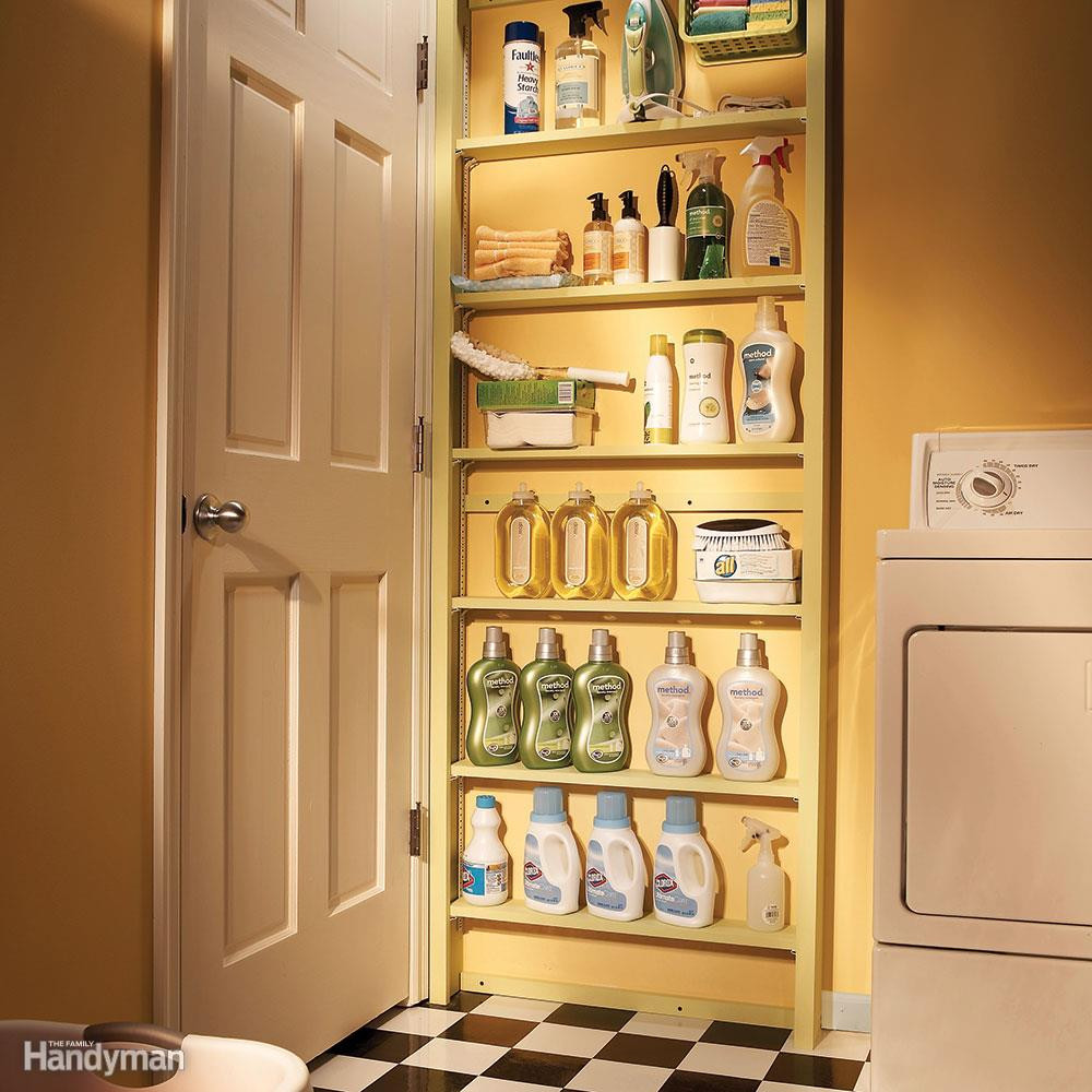 Best ideas about Small Laundry Room Storage Ideas . Save or Pin 20 Small Space Laundry Room Organization Tips Now.