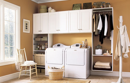 Best ideas about Small Laundry Room Storage Ideas . Save or Pin 30 Awesome Laundry Room Storage Ideas Now.