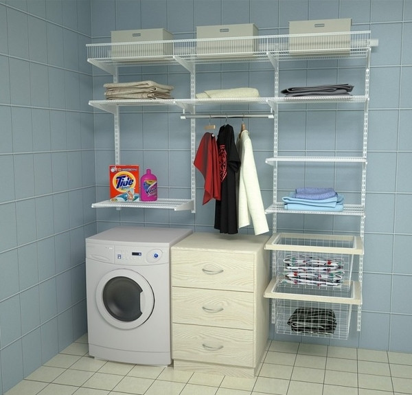 Best ideas about Small Laundry Room Storage Ideas . Save or Pin 40 small laundry room design ideas fortable and Now.
