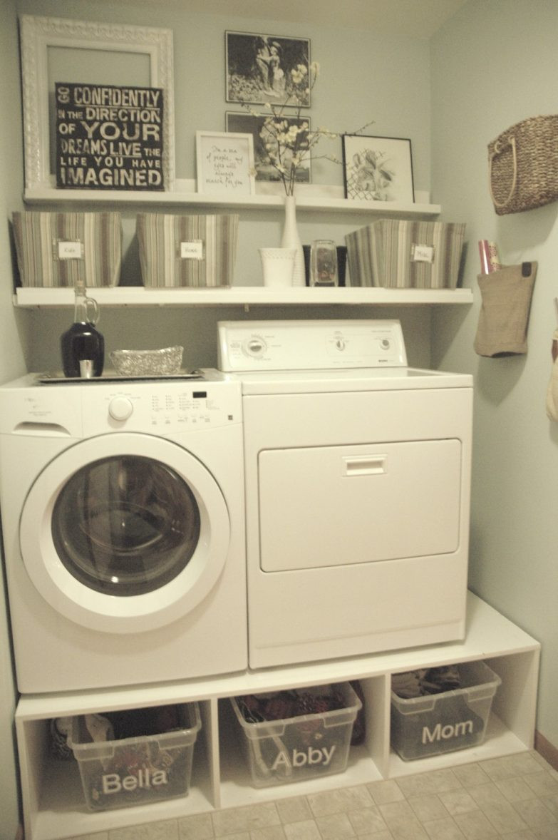 Best ideas about Small Laundry Room Storage Ideas . Save or Pin Small Laundry Room Ideas to Try Now.