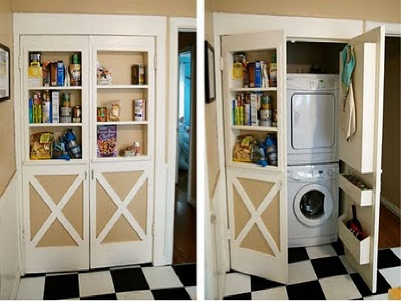 Best ideas about Small Laundry Room Storage Ideas . Save or Pin Storage ideas for small laundry room unique laundry room Now.