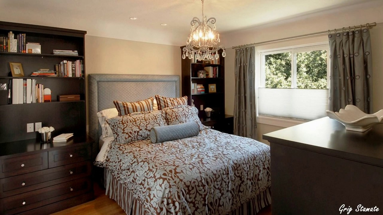 Best ideas about Small Master Bedroom . Save or Pin Small Master Bedroom Decorating Ideas Now.